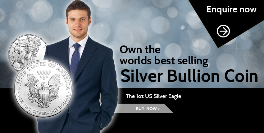 1 oz US Silver Eagle - the worlds best selling silver bullion