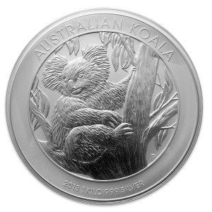 Buy 1 Kilo Australian Silver Koala from Lakeshore Trading