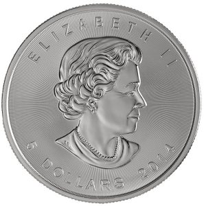 Buy 1 oz Canadian Silver Maple Leaf coin from Lakeshore Trading