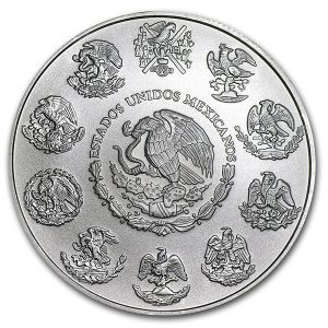 Buy 1 oz Mexican Silver Libertad coin from Lakeshore Trading