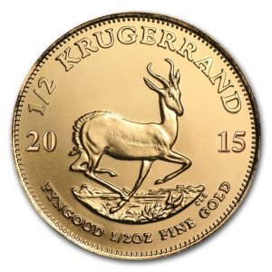 Buy 1/2oz Gold Krugerrand - Gold Coin from Lakeshore Trading