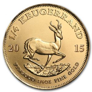 Buy 1/4oz Gold Krugerrand - Gold Coin from Lakeshore Trading