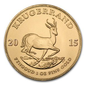 Buy 1oz Gold Krugerrand - Gold Coin from Lakeshore Trading