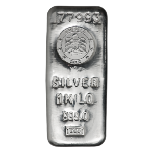 Buy 1 Kilo Emirates Silver Bar from Lakeshore Trading