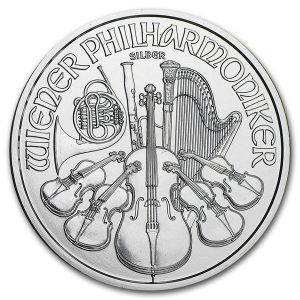 Buy 1 oz Austrian Silver Philharmonic coin from Lakeshore Trading
